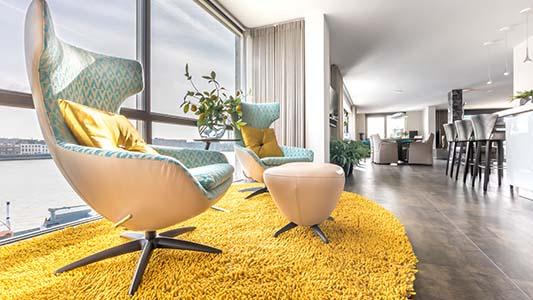 altijd kijkende naar het complete interieur en een combinatie van onze collectie design meubels en maatwerk van verberne interieur design