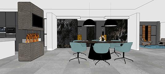 Interieurontwerp | van Moodboard tot een 3D-interieurontwerp!